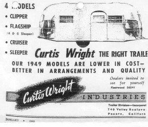 Curtis Wright Clipper Ad