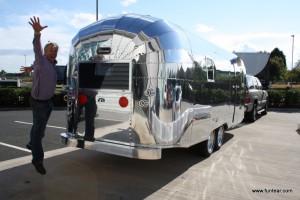FunTear Retro 23 Aluminium Aircraft Style Caravan